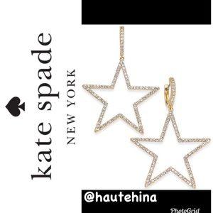 Kate Spade ♠️ paves Star Earrings